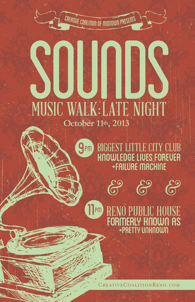 Reno Public House – Sounds Music Walk (LATE NIGHT)